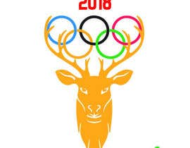 "nº 27 pour A logo for a t-shirt with the outline of a deer face and that says ""Venado Olimpiadas 2018"" par nazmussakibpolas"