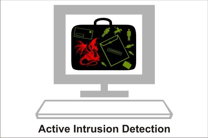 Contest Entry #                                        12                                      for                                         Illustration Design for Active Network Security.com