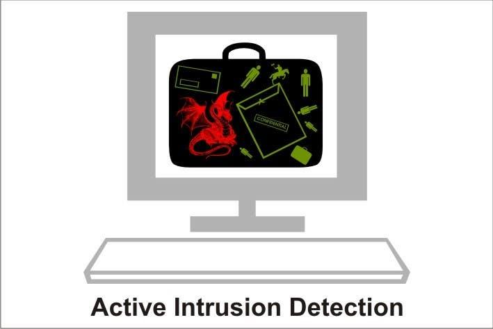 Kilpailutyö #                                        12                                      kilpailussa                                         Illustration Design for Active Network Security.com