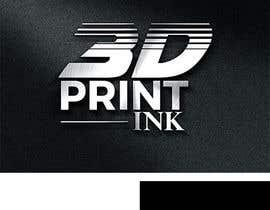 #176 for Logo for name 3DprintINK by JohnDigiTech