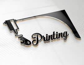 #35 for Logo for name 3DprintINK by aliabdelhasi