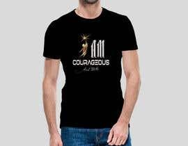 "#78 para ""I am Courageous. Deut 31:6"" - BOYS Tshirt Design por Msrohani420"