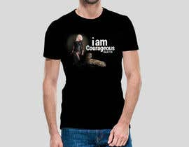 "#45 para ""I am Courageous. Deut 31:6"" - GIRLS Tshirt Design de mdsajeebrohani"