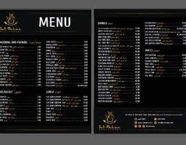 #28 para Menu for a restaurant por NataBena