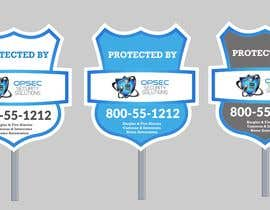 "ConceptGRAPHIC tarafından Design a ""protected by"" sign for out security company için no 26"