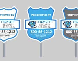 "ConceptGRAPHIC tarafından Design a ""protected by"" sign for out security company için no 31"
