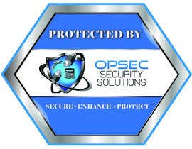 "NazMalik004 tarafından Design a ""protected by"" sign for out security company için no 14"