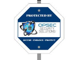 "cehazem1 tarafından Design a ""protected by"" sign for out security company için no 6"