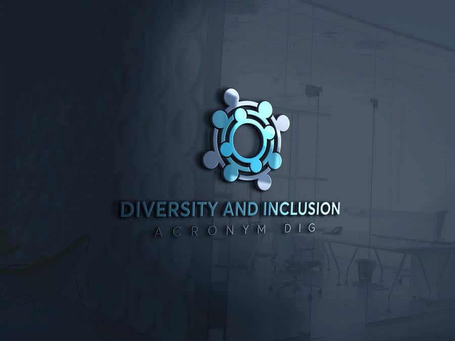 Kilpailutyö #9 kilpailussa diversity and Inclusion group logo