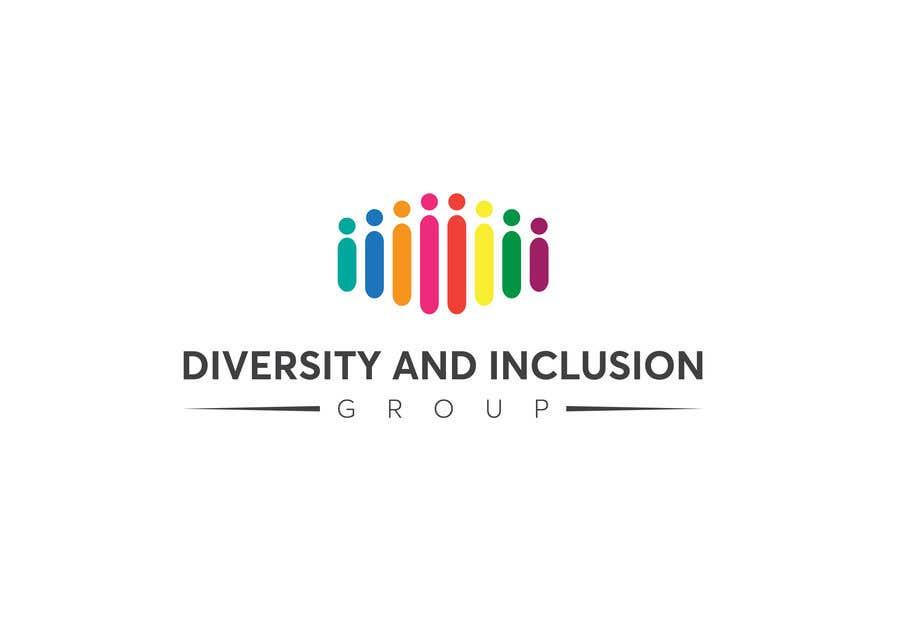 Kilpailutyö #33 kilpailussa diversity and Inclusion group logo