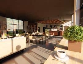 nº 3 pour Architecture Design & interior layout for a coffee shop par Chrysalism92