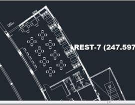 nº 4 pour Architecture Design & interior layout for a coffee shop par mohamedmh94