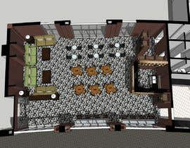 nº 14 pour Architecture Design & interior layout for a coffee shop par aliwafaafif