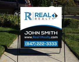 Nro 458 kilpailuun Create a Professional Real Estate Sign käyttäjältä rhythmnasim77