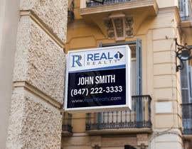 Nro 726 kilpailuun Create a Professional Real Estate Sign käyttäjältä andreschacon218