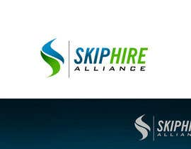 #208 para Logo Design for Skip Hire Alliance por pinky