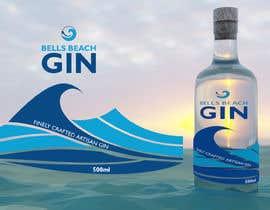 #4 untuk Bells Beach Spirits Label Design oleh jamdesign86