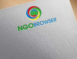 "#29 для The logo is for the company: ""NGO Browser"" it offers browser solutions for charity (non governmental organizations) as it also applies in browser extensions it should be round-see other browser logos like: Firefox, Internet Explorer, Chrome. Good luck! от flyhy"