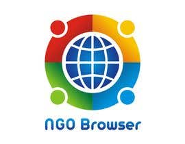 "#7 для The logo is for the company: ""NGO Browser"" it offers browser solutions for charity (non governmental organizations) as it also applies in browser extensions it should be round-see other browser logos like: Firefox, Internet Explorer, Chrome. Good luck! от sandy4990"