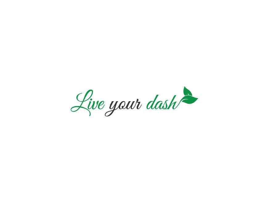"Конкурсная заявка №40 для Painting/design that captures the meaning of ""Live your dash"""