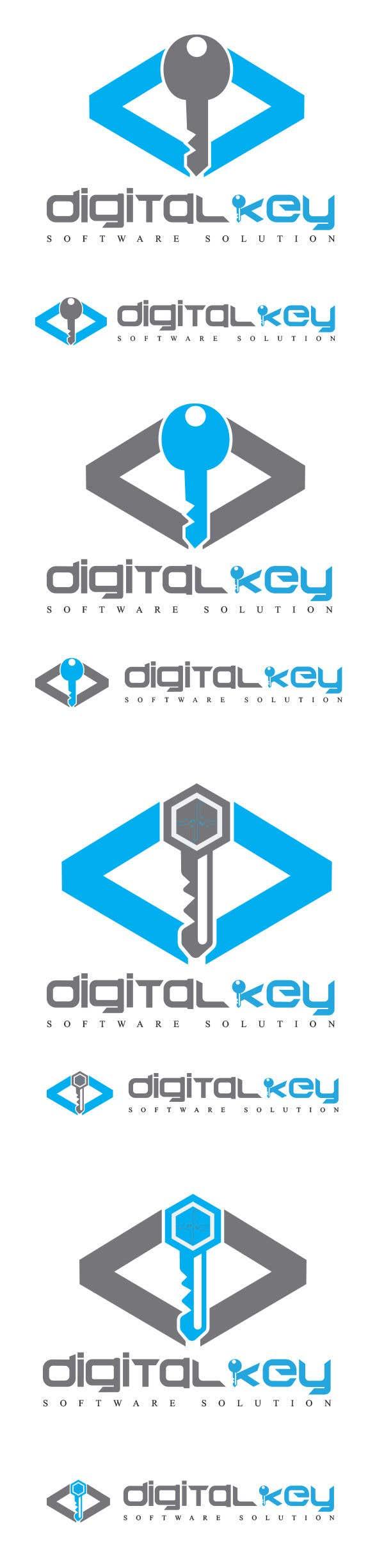 Konkurrenceindlæg #59 for Logo for firm name Digital Key