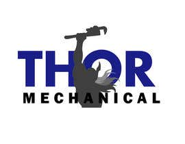 nº 18 pour Logo Design for Thor Mechanical par Xiuhcoatl