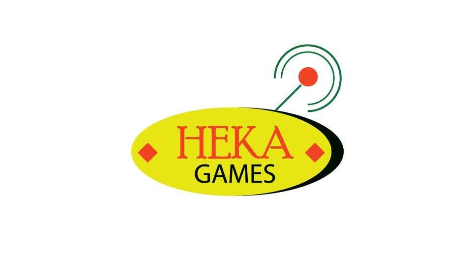 Kilpailutyö #91 kilpailussa Logo for Heka Games