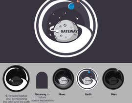 #584 for NASA Contest: Design the Gateway Program Graphic by Adrianm2d