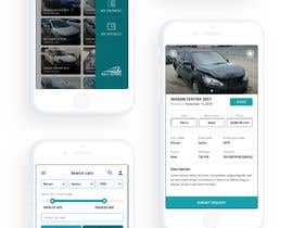 #8 for design app mockup for used cars trading company af wayannst