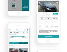 #19 for design app mockup for used cars trading company af wayannst