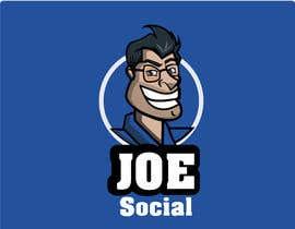 Nro 5 kilpailuun Design A Custom Cartoon Character for Joe.Social käyttäjältä eleanatoro22
