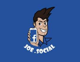 Nro 39 kilpailuun Design A Custom Cartoon Character for Joe.Social käyttäjältä eleanatoro22