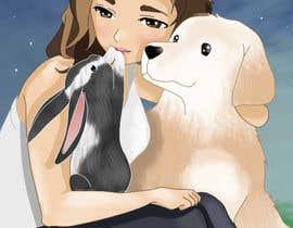 nº 13 pour Draw my friend and her pets!! par Arnoob