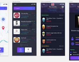 nº 32 pour I need an UI / UX designer for app mockup par rsamojlenko