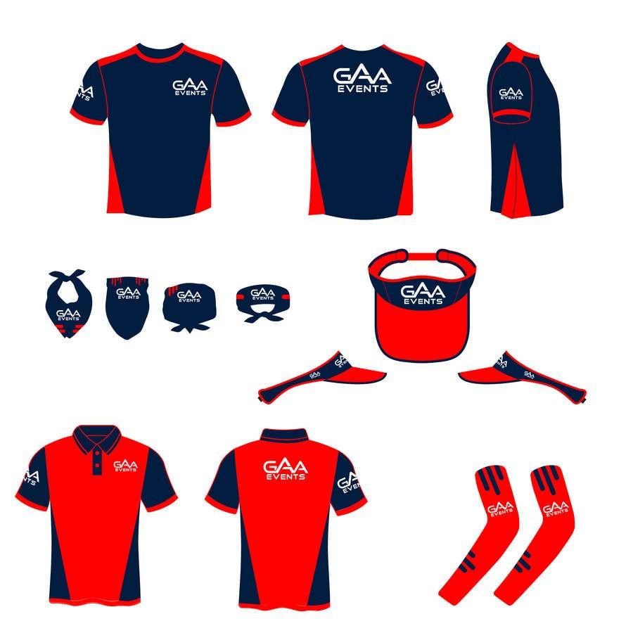 Entry 50 By Sadatkhan194 For Design Company Uniform T Shirt Polo Shirt Visor Buff And Arm Sleeves Freelancer