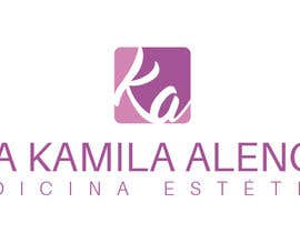 #75 para Logotipo Dra Kamila Alencar por roxeli125