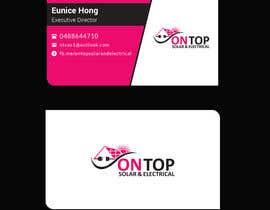 #258 untuk Design a business card using the logo uploaded oleh Uttamkumar01
