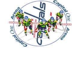 #9 for Draw hockey player illustration by letindorko2
