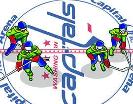 #2 for Draw hockey player illustration by farisaris97
