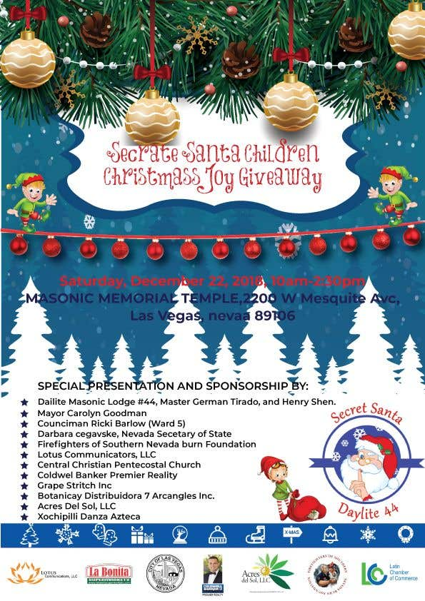 Christmas Giveaway Flyer.Entry 24 By Mdarafat580 For Design Flyer For Christmas Toy