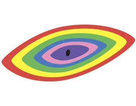#4 для An image made by an 8 year old. It's a rainbow color eyeball.  I would like someone to  design a vector image of a similar concept of an eyeball with the same colors used in the attachment от Cimiss