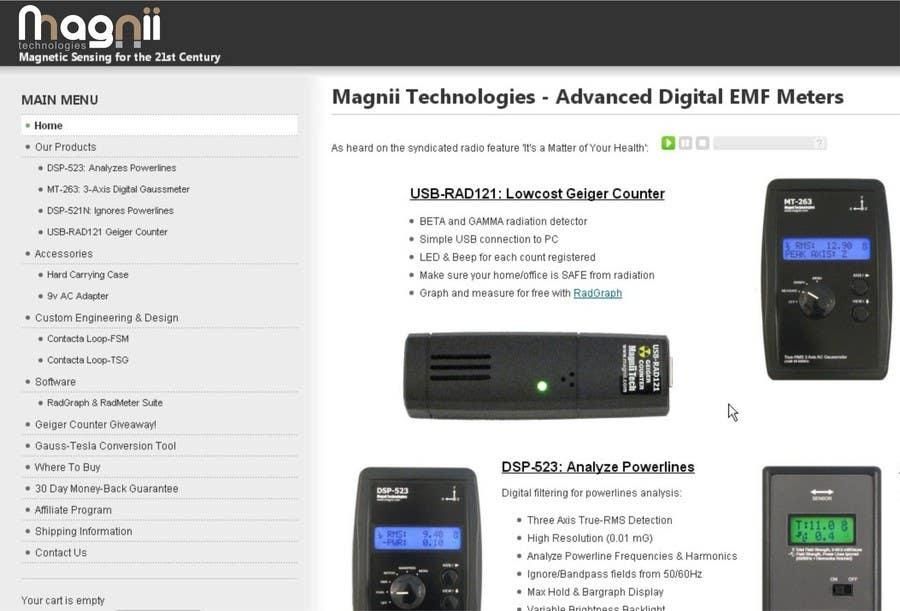 Penyertaan Peraduan #82 untuk Magnii Technologies
