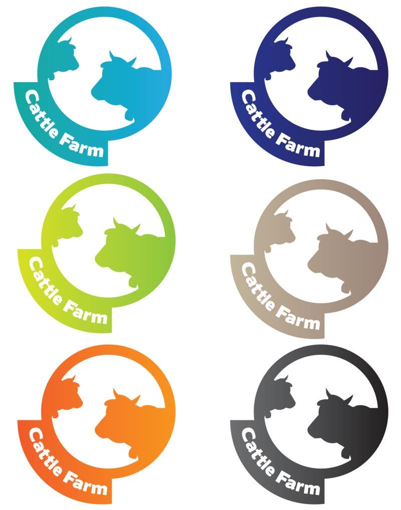Kilpailutyö #                                        32                                      kilpailussa                                         Logo Design for Cattle Farm