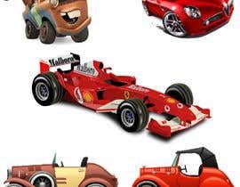 nº 26 pour Graphic Young Boys Kids Cars Five Color par foujdarswati6