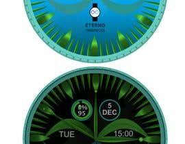 #13 cho Create watch face design for smartwatches - circular, analogue, lifelike and feminine. bởi Cobot