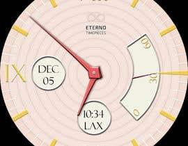 #8 cho Create watch face design for smartwatches - circular, analogue, lifelike and feminine. bởi KudzayiM