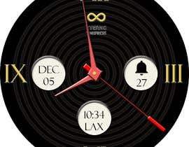 #18 cho Create watch face design for smartwatches - circular, analogue, lifelike and feminine. bởi KudzayiM