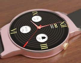 #19 cho Create watch face design for smartwatches - circular, analogue, lifelike and feminine. bởi KudzayiM