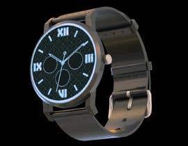 #26 cho Create watch face design for smartwatches - circular, analogue, lifelike and feminine. bởi MatiasDupuy