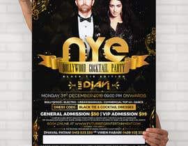 Nro 46 kilpailuun NYE Bollywood Cocktail Party (Black Tie Edition) käyttäjältä MooN5729